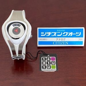 Citizen White Techno Watch